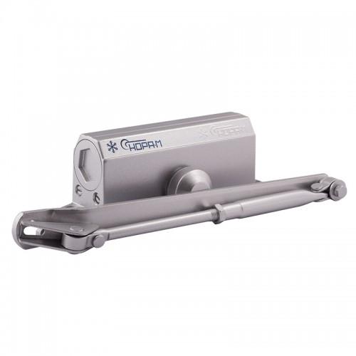 Доводчик Нора-М №3S большой (до 80 кг) серебро