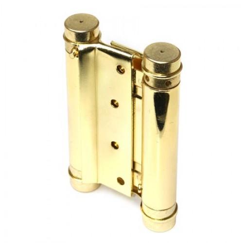 Петля пружинная двойная Amig 3037-100*126 (латунь) 9812 (до 24 кг)