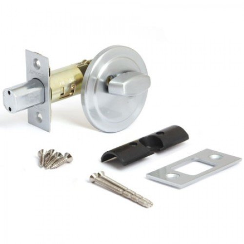 Задвижка дверная Apecs L-0108-CRM (D-108-S)