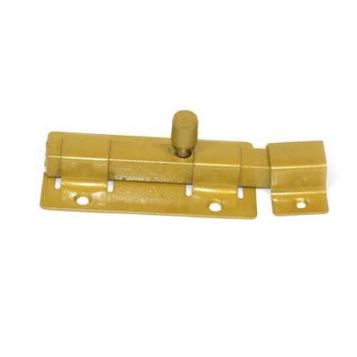 Задвижка накладная ЗД-06(золото)кв. ригель