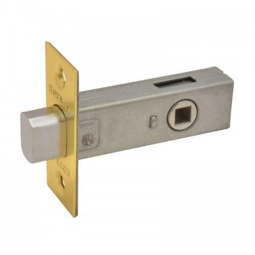 Задвижка дверная 3-45 (мат.латунь)( распродажа)
