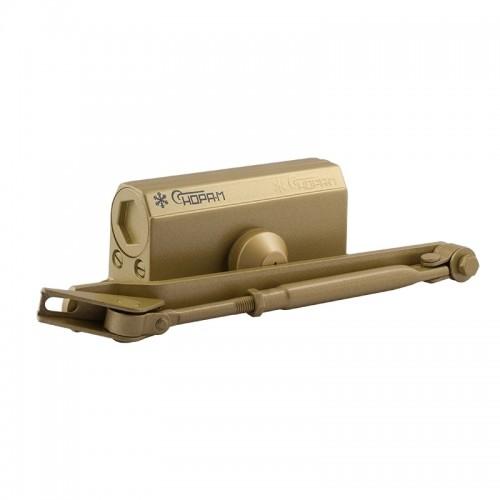 Доводчик №2s F (до 50кг) (золото) морозостойкий