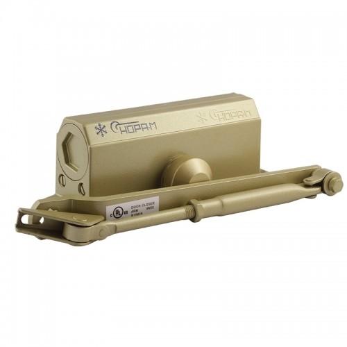 Доводчик Нора-М №3Sмалый (до 80 кг) золото