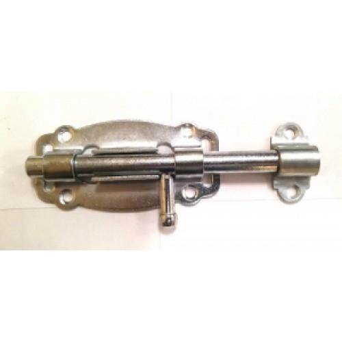 Задвижка дверная ЗД-100-Кр цинк