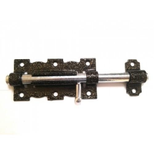 Задвижка дверная ЗД-110 бр.металик/цинк