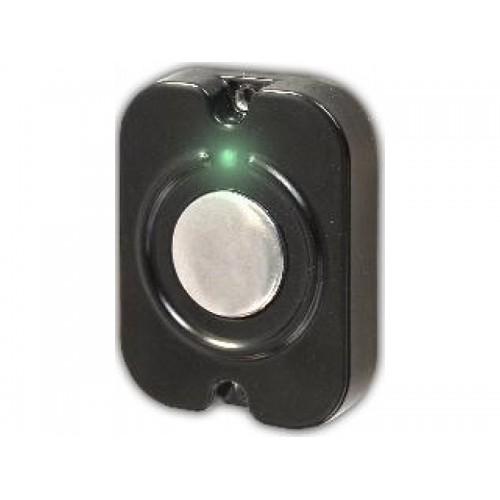 Кнопка выхода накладная,НО,12В, 0,1 А металл.подсветка,53*41*10(Exitka черный)