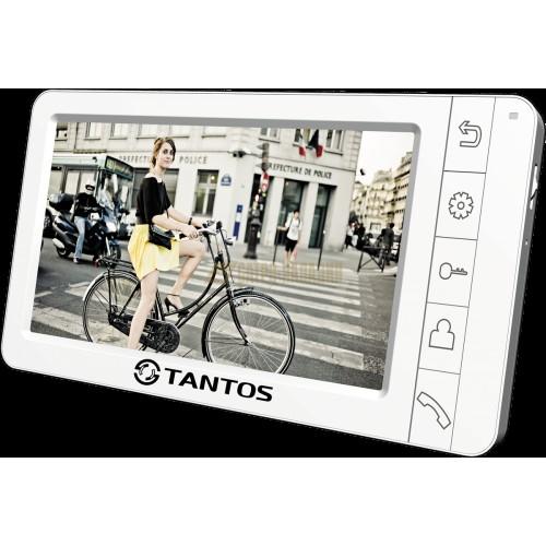 Монитор видеодомофона,цв.,TFT LCD7,Pal/NTSC.Hands-Free.2панели(Аmelie.White)