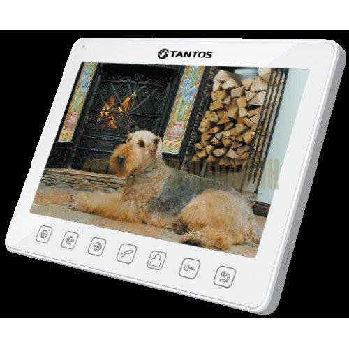 Монитор видеодомофона,цв,TFT LCD10.1 1024*768 PAL/NTSC.Hands-Free(Sherlock White)