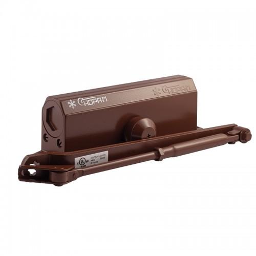 Доводчик Нора-М №4S (до 120 кг)(коричневый)мороз-й