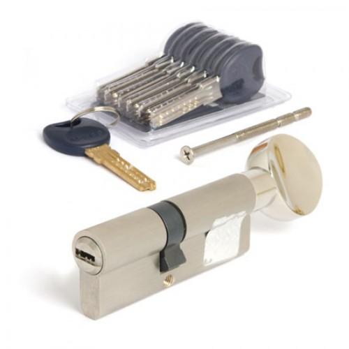 Цилиндровый механизм Apecs Premier CD-80(35/45C)-C-NI