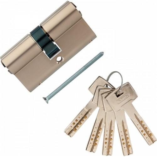 Европрофильный цилиндр ABUS M12R410 ключ/ключ 35-35 (70мм) NI (5 key)