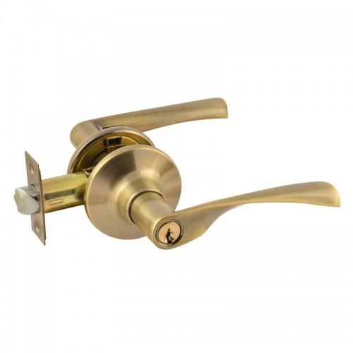 ISPARUS ЗВ2-01(стар.бронза) Защелка м/к (ключ/фикс.)