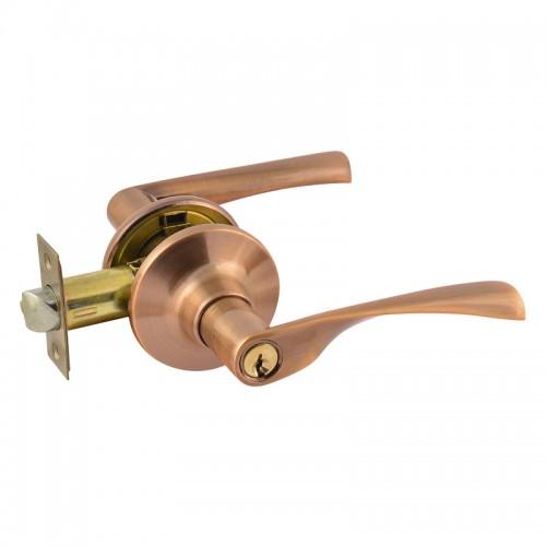 ISPARUS ЗВ2-01(стар.медь) Защелка м/к (ключ/фикс.)